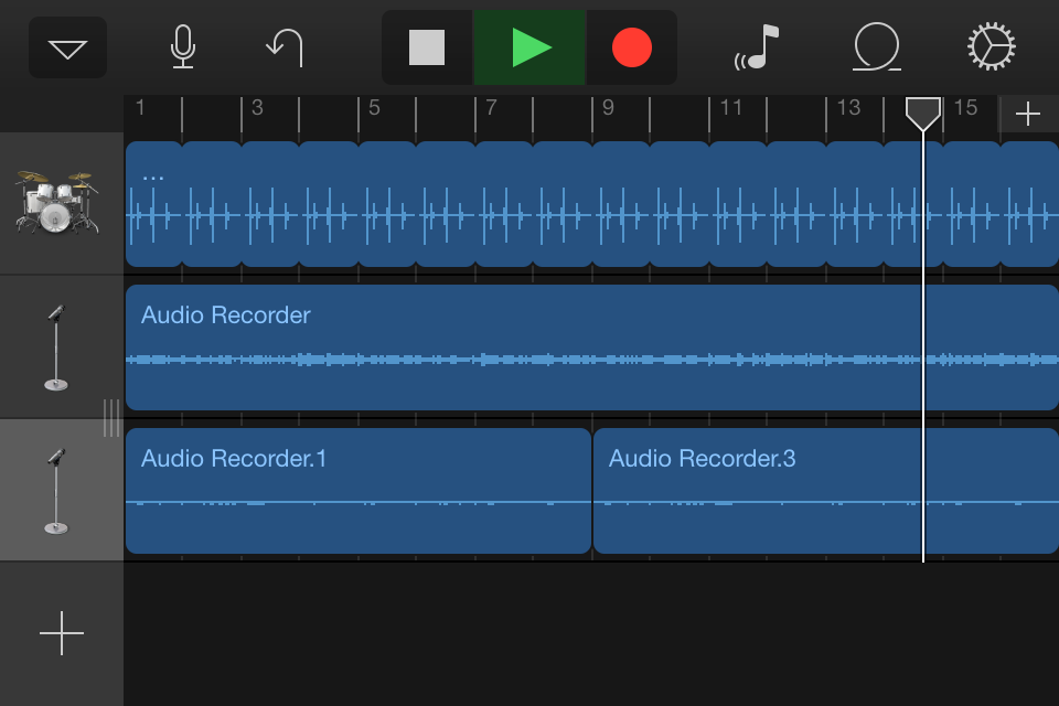 how to change reverb on all track garageband
