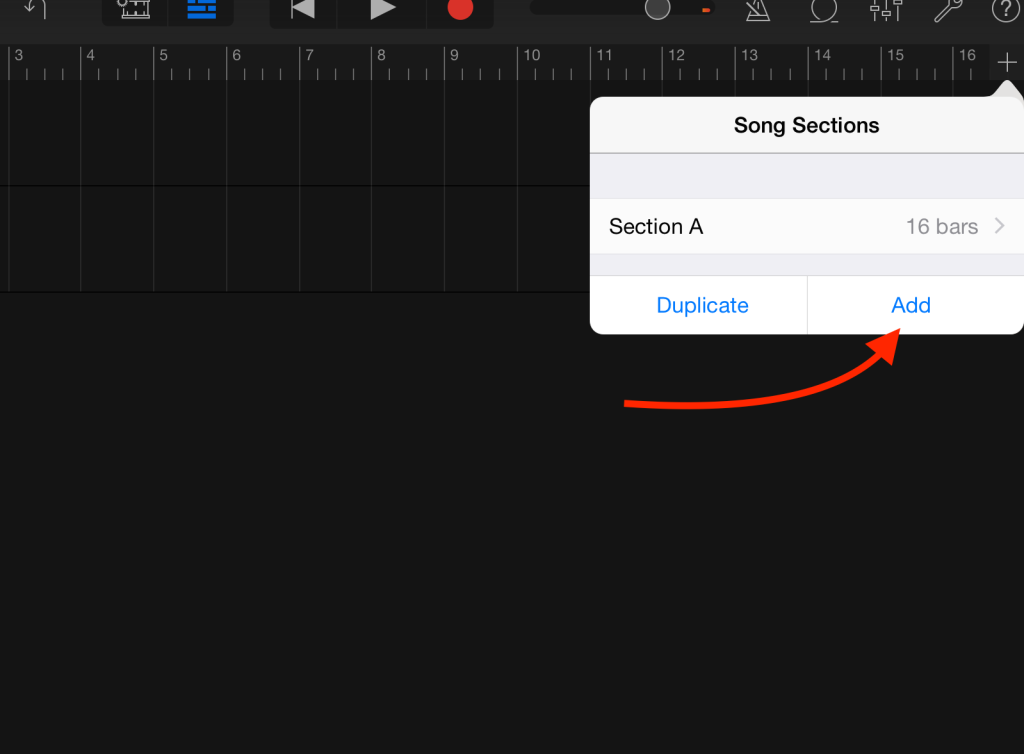 iOS length add B