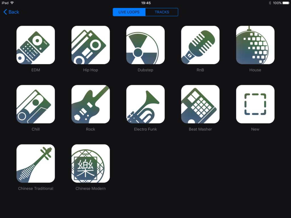 How To Use Live Loops – Garageband iOS